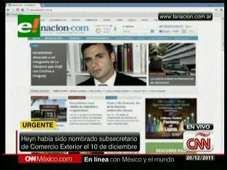 Subsecretario de comercio de Argentina es encontrado muerto en Uruguay