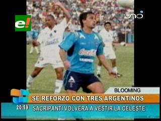 Blooming se refuerza con tres jugadores argentinos