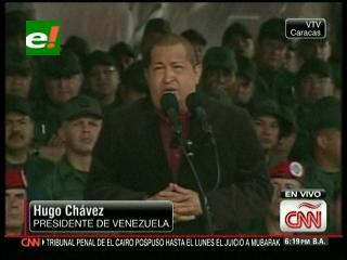 Hugo Chávez ve un complot tras el cáncer de varios presidentes