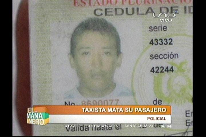 Matan a puñaladas al pasajero de un taxi tras una oscura trama