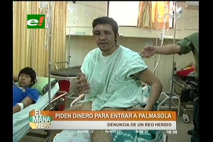 Un recluso es herido con cuchillo en Palmasola, denuncia que cobran para ingresar al penal