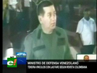 Revelan relación de las FARC con Ministro de Defensa venezolano