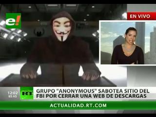 Anonymous contraataca: «Esto es solo el comienzo»