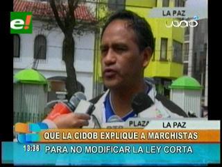 """Diputado Bonifaz: """"Cidob tiene que explicar al Conisur porqué no se debe modificar la ley corta"""""""