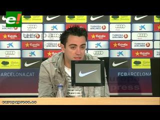 """Xavi: """"Messi es incomparable y único"""""""