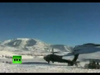 Un helicóptero militar se desploma en Afganistán