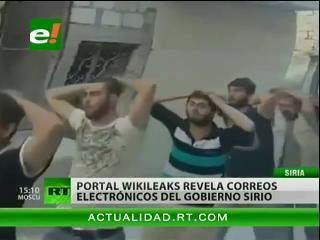 Archivos de Siria: WikiLeaks publica 2,4 millones de documentos secretos