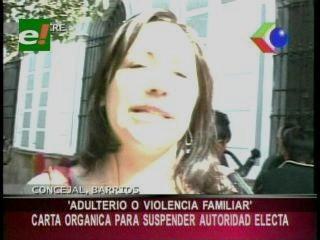 Alcaldes y concejales que cometan adulterio serán suspendidos en Sucre
