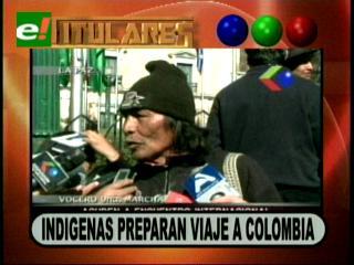 Indígenas viajarán a Colombia, denunciarán ante organismos internacionales abusos del Gobierno
