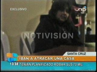 Hermana de antisocial abatido confiesa que iban a robar $us 70.000