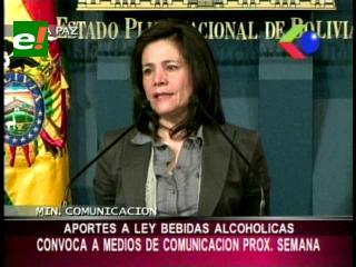 Convocan a medios de comunicación, analizarán mecanismos que aporten a la Ley de bebidas alcohólicas