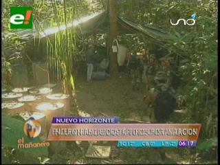 Cae un narcotraficante colombiano y se desbarata laboratorio