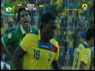 Bolivia cae ante Ecuador por un penal dudoso