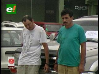 Santa Cruz: Felcc presenta a supuestos autores del asalto a Cine Center