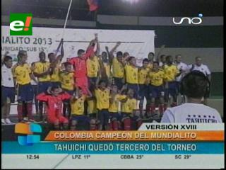 Colombia es el campeón del Mundialito Paz y Unidad
