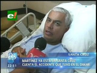 """Leonardo Martínez : """"El Dakar es una lección de vida"""""""