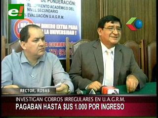 Fiscalía investigará cobros irregulares en la Uagrm