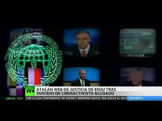 Anonymous amenaza con filtrar datos sobre la Justicia de EEUU
