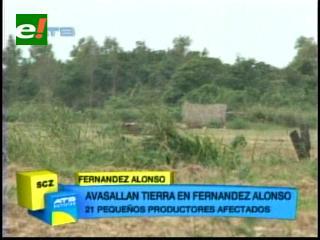 Santa Cruz: Avasallan tierras en el municipio Fernández Alonso