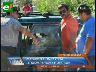 Taxista que transportaba a menonitas muere acribillado