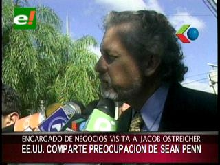 Caso Ostreicher: La Embajada de EEUU entiende preocupación de Sean Penn