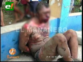 Linchados por pobladores: Muere presunto cabecilla de banda de atracadores en Ivirgazama