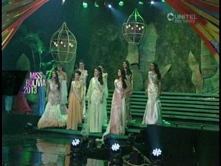 Miss Bolivia 2013: Las 9 finalistas