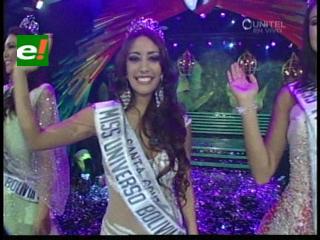 La Miss Bolivia 2013 es Claudia Tavel