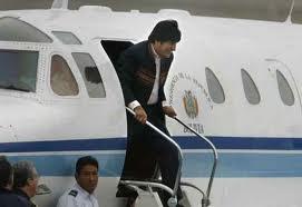 El avión de Evo Morales aterriza de emergencia en Austria