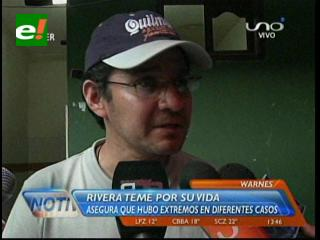 Rodas y Rivera responsabilizan al viceministro Pérez por su seguridad