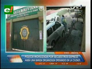 Cinco detenidos por el secuestro de una joven en Santa Cruz