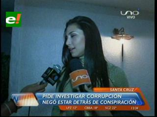 Jessica Jordan niega estar detrás de una conspiración contra Ernesto Suárez