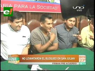Pese a un acuerdo inicial, el bloqueo sigue en San Julián