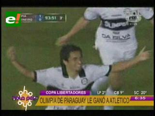 Olimpia golpeó en la primera final de la Copa Libertadores