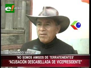 """Fernando Vargas le responde al Vicepresidente: """"No somos aliados de nadie, si de la Constitución"""""""