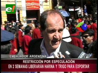 Argentina confirma que en dos semanas liberará exportación de harina