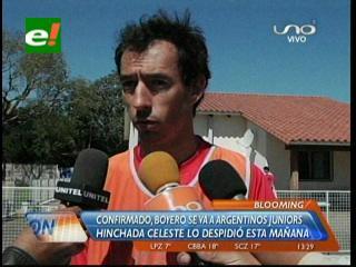 Boyero ficha para Argentinos Juniors y se despide de Blooming
