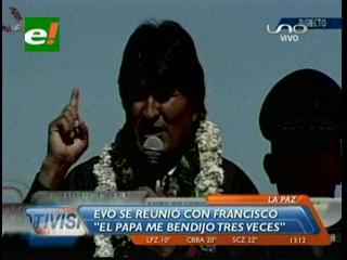"""Evo Morales: """"Jesucristo fue el primer socialista del mundo"""""""