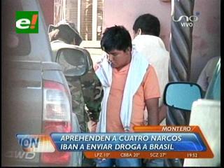 En el norte cruceño: Incautan gran cantidad de droga tras balacera y detienen a cuatro personas