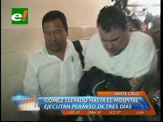 Trasladan a Isabelino Gómez al hospital San Juan de Dios