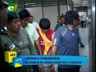 Liberan a ocho detenidos en Cuatro Cañadas