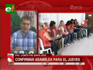 Cívicos de Bolivia convocan a la ministra Caro y al director del INE