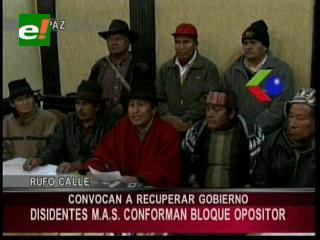 Disidentes del MAS critican la Cumbre Antiimperialista y la gestión de Evo Morales