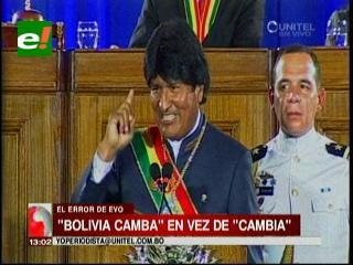El programa 'Evo Cumple' pasará a llamarse 'Bolivia Camba' en Santa Cruz