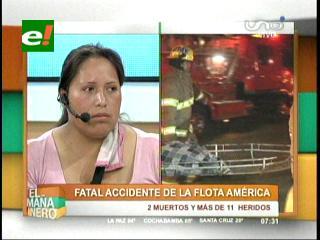 Choque entre bus y trailer deja 2 muertos: Sobrevivientes del accidente relatan agonía