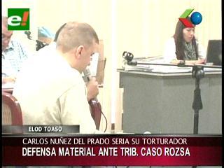 """Tóásó: """"Núñez del Prado me torturó"""""""