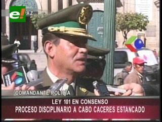 Anuncian proceso disciplinario contra la Cabo infiltrada en la marcha del Tipnis