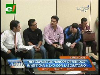 Dos extranjeros y un boliviano son hallados con armas de grueso calibre