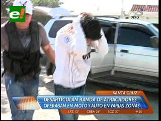 Felcc desarticula peligrosa banda de atracadores en la Villa 1ro de Mayo