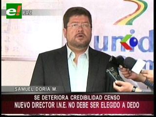 Doria Medina: «Hay más problemas que la renuncia de Laruta, el INE está intervenido»